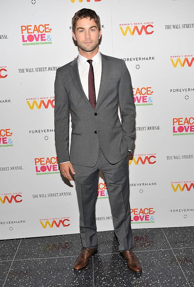 Chace Crawford attends the 'Peace, Love And Misunderstanding' New York Screening at the Museum of Modern Art on June 4, 2012 in New York City.