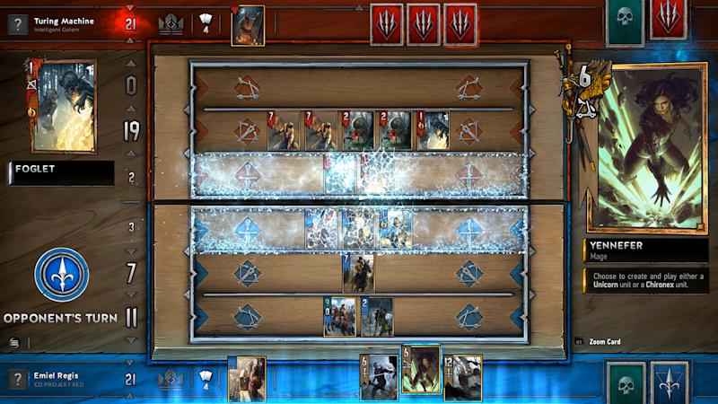 Gwent is available now on PS4, Xbox One, and PC (CD Projekt)