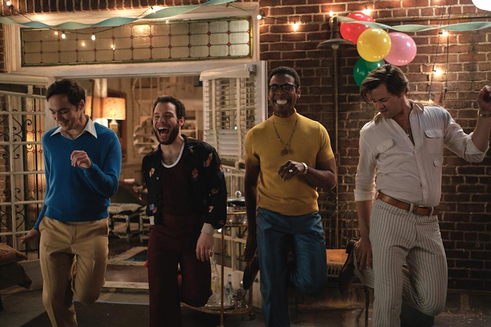 The Boys in the Band. Image via Netflix
