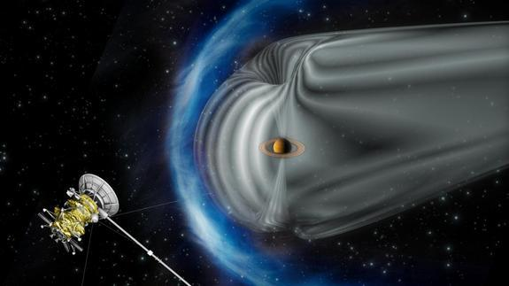 NASA Spacecraft Discovers Particle Accelerator at Saturn