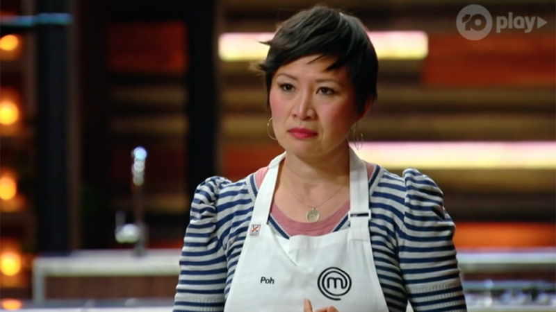 Poh Ling Yeow appears stressed on MasterChef after losing immunity