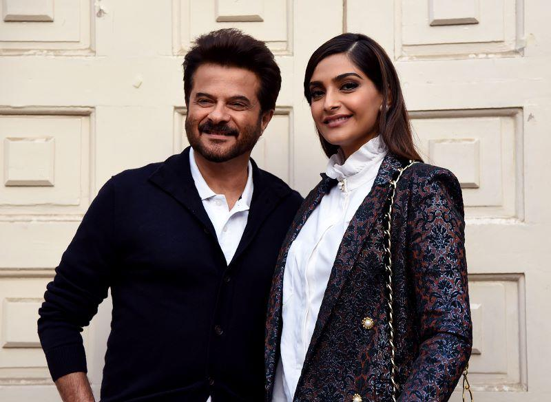 Anil Kapoor with daughter Sonam K Ahuja