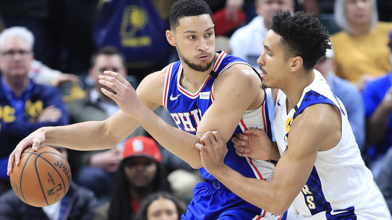 Ben Simmons has opened up about the experiences with racism he and his family have had as part of the DoMore campaign. (Photo by Andy Lyons/Getty Images)