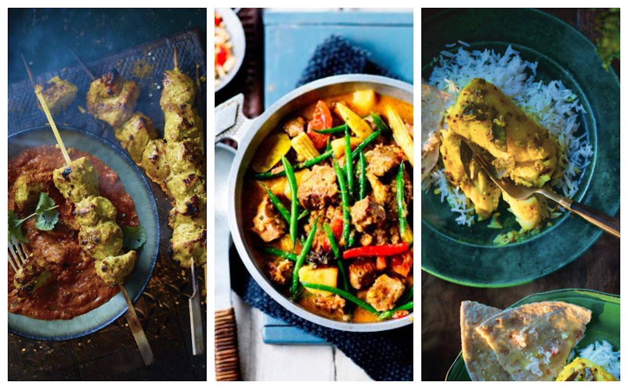 <p>Looking for new curry recipes to add to your repertoire?</p><p>Whether you like yours seriously spicy or prefer something mild, curries are a mid-week supper staple that still taste like a treat – and they're easily adaptable to suit vegetarians, vegans, pescatarians and meat-eaters (along with those with allergies). Plus, there's no need to spend hours perfecting the curry paste (unless you want to) because curries can be quick, too.</p><p>That's why we've rounded up our favourite curry recipes from around the world. There's Wagamama's Japanese-inspired chicken katsu curry recipe, Anjum Anand's easy tarka dhal recipe to transport you straight to India and plenty of inspiration from Thailand, Sri Lanka and Indonesia too.</p><p>So, why not serve up a new curry recipe tonight? These are sure to become firm family favourites...</p>