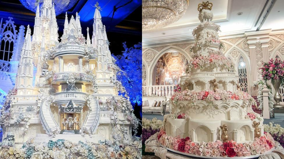 World's most outrageous wedding cakes