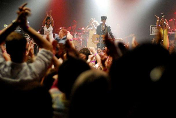 PHOTO: On July 7, 2007, Prince held a series of legendary concerts at several of his Minneapolis hometown haunts, including an explosive show at First Avenue. (First Avenue)