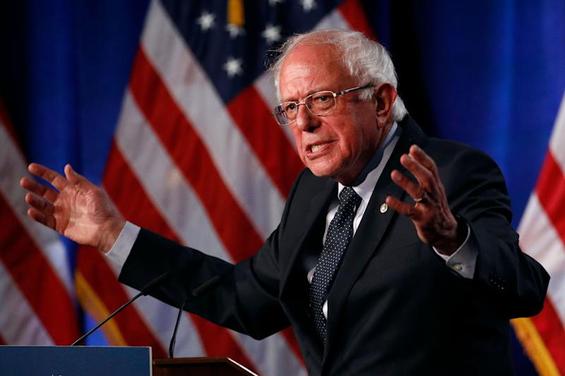 Sen. Bernie Sanders (I-Vt.), a Democratic presidential candidate, speaks about Medicare for All on Wednesday in Washington. (Photo: ASSOCIATED PRESS/Patrick Semansky)