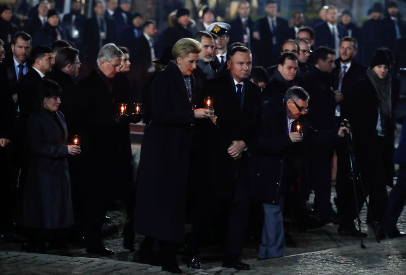 75th anniversary of the liberation of the Nazi German concentration and extermination camp Auschwitz and International Holocaust Victims Remembrance Day