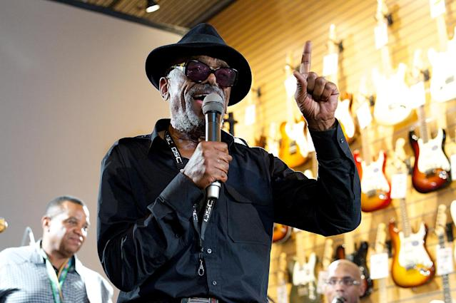 <p>Leon Ware was a R&B producer, songwriter, and recording artist who worked with artists ranging from Marvin Gaye to Maxwell. He died Feb. 23 at the age of 77.<br> (Photo: Earl Gibson III/WireImage) </p>