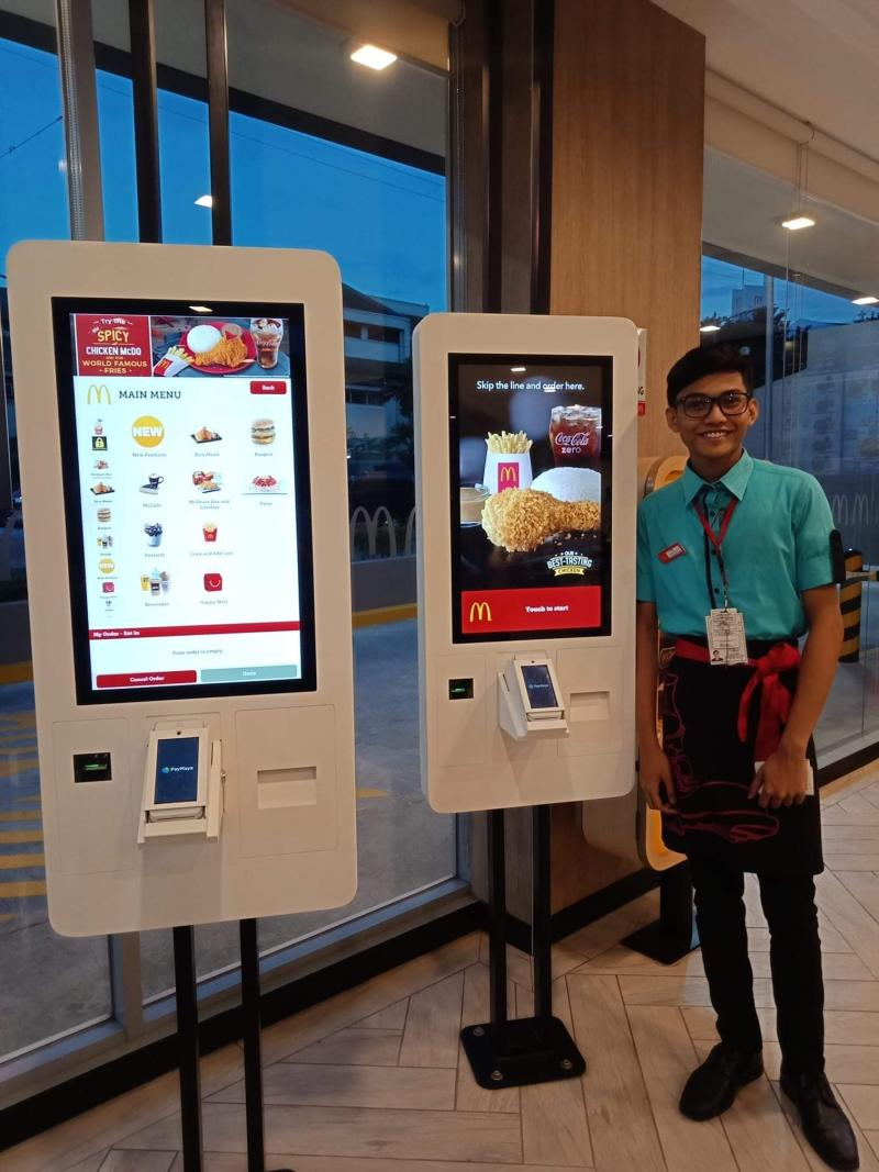 are you looking forward to using the self ordering kiosk at mcdonald s
