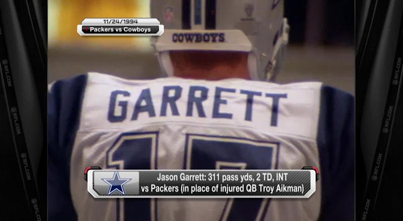 pretty nice 1e788 6ea04 Throwback Thanksgivings: The Jason Garrett (as QB, not coach ...