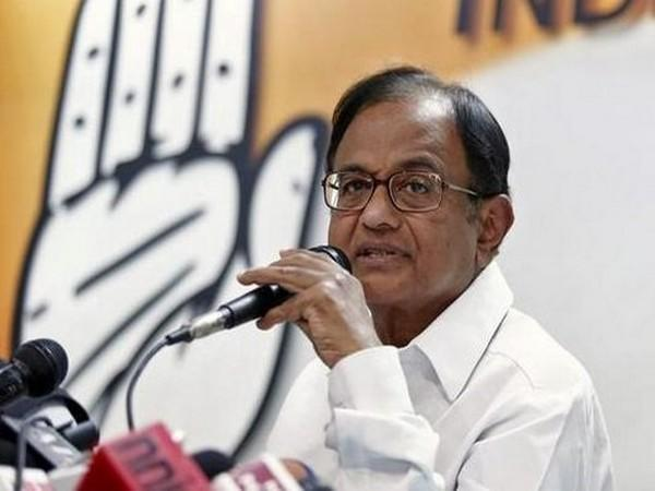 Former Union Finance Minister and Congress leader P Chidambaram. (File photo)