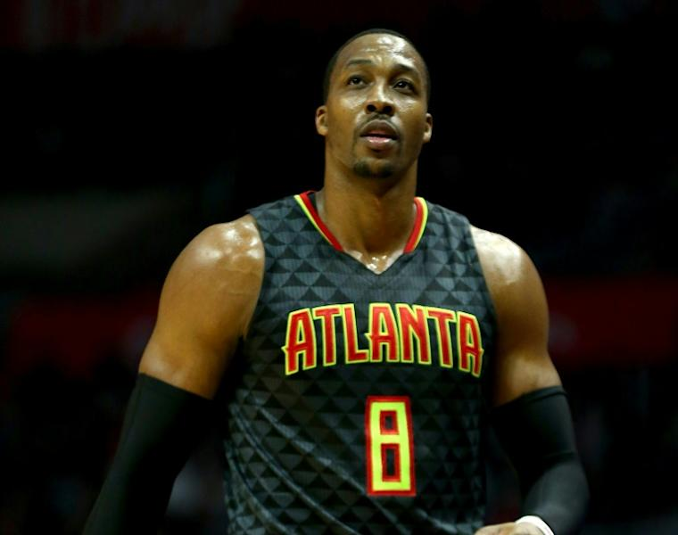 Center Dwight Howard scores 19 points as the Atlanta Hawks take down the Charlotte Hornets 103-79