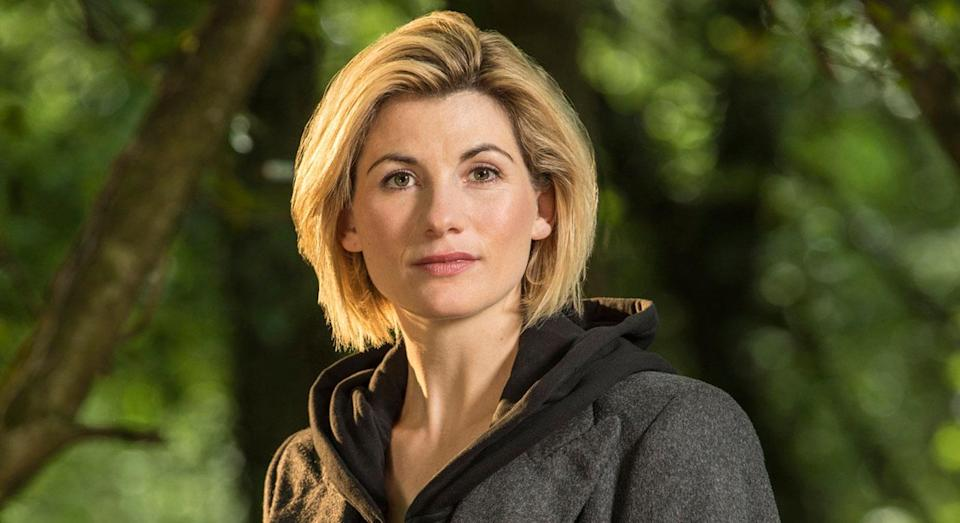 This how Jodie Whitaker looked as The Doctor when she was first announced as Peter Capaldi's replacement. (BBC)