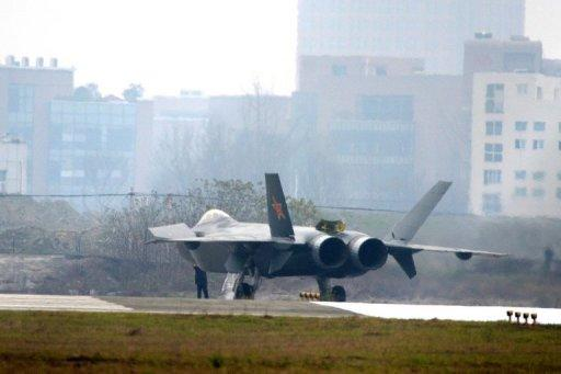China's stealth fighter jet, the J-20
