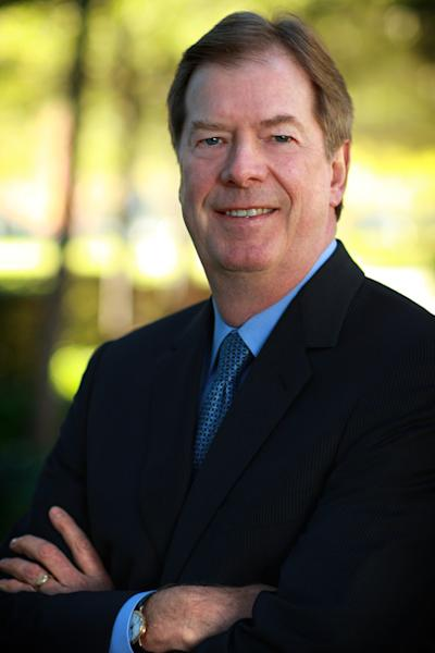 This 2008 photo released by Electronic Arts shows Larry Probst in Redwood Shores, Calif. Video game publisher Electronic Arts says its CEO, John Riccitiello, will step down on March 30. Electronic Arts Inc. said Monday that it has named Larry Probst as executive chairman while it searches for a replacement. Probst has been chairman since 1994 and served as CEO from 1991 to 2007, when Riccitiello took over. (AP Photo/Electronic Arts, Najib Joe Hakim)