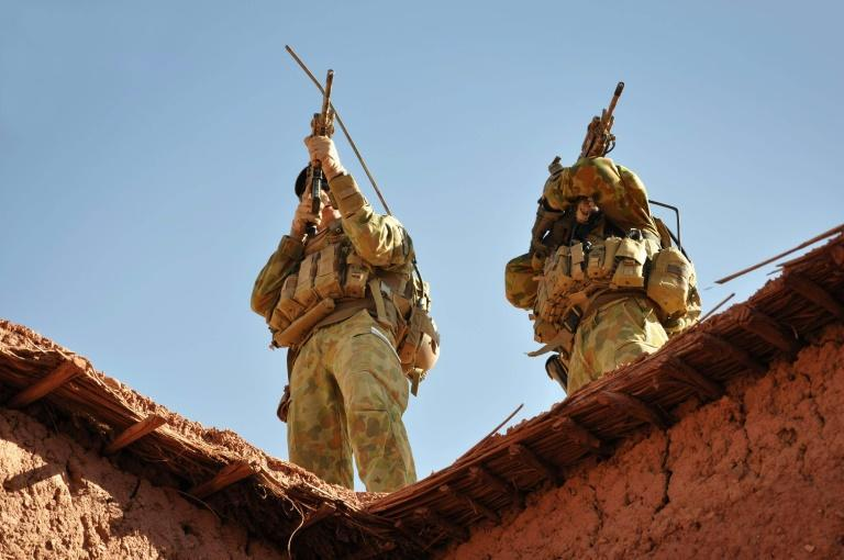 Australian troops were deployed alongside US and allied forces in Afghanistan following the September 11, 2001 attacks