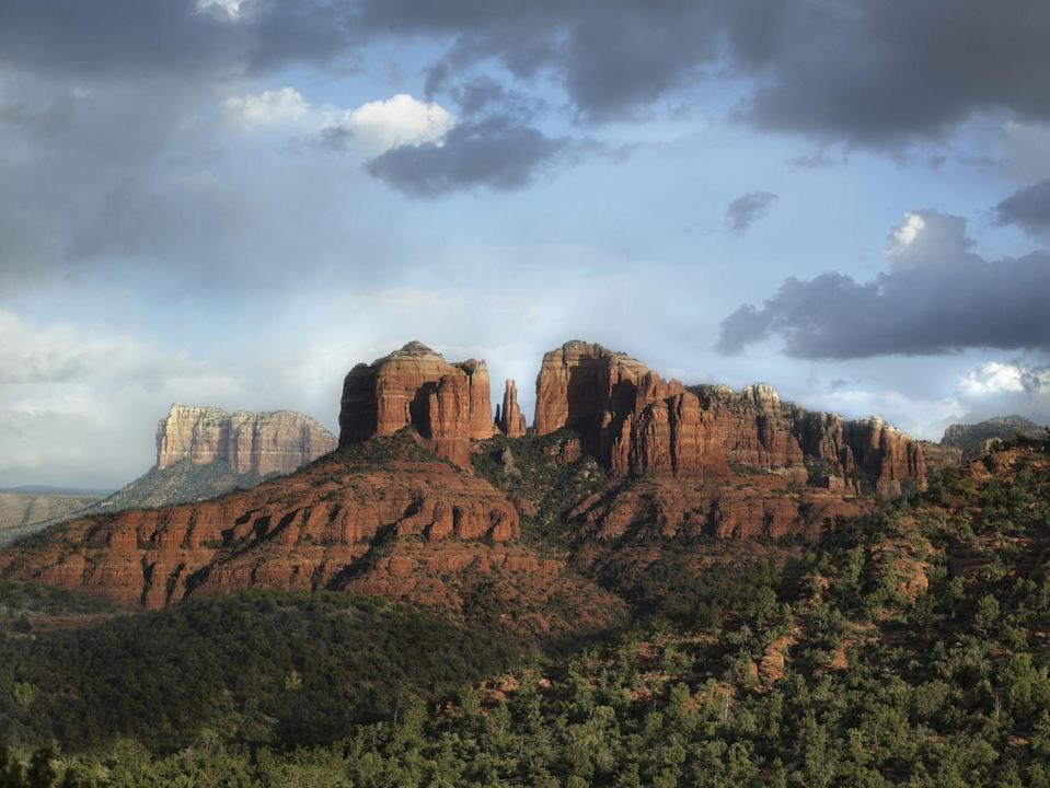 """<p>Have you been missing some adventure in your life? Us, too. Sedona, Arizona's <a href=""""https://www.enchantmentresort.com/"""" rel=""""nofollow noopener"""" target=""""_blank"""" data-ylk=""""slk:Enchantment Resort"""" class=""""link rapid-noclick-resp"""">Enchantment Resort</a>, home to the world-renowned <a href=""""https://www.enchantmentresort.com/mii-amo-spa/"""" rel=""""nofollow noopener"""" target=""""_blank"""" data-ylk=""""slk:Mii amo Spa"""" class=""""link rapid-noclick-resp"""">Mii amo Spa</a>, just opened a new <a href=""""https://www.enchantmentresort.com/trailhouse/"""" rel=""""nofollow noopener"""" target=""""_blank"""" data-ylk=""""slk:Trail House"""" class=""""link rapid-noclick-resp"""">Trail House</a> offering for guests to get the full hiking, biking, and exploring experience in picturesque Boynton Canyon. Plus, winter is Arizona's slow season, so you won't be facing big crowds while day-tripping to the Grand Canyon or exploring Sedona's incredible arts culture and restaurants.</p>"""