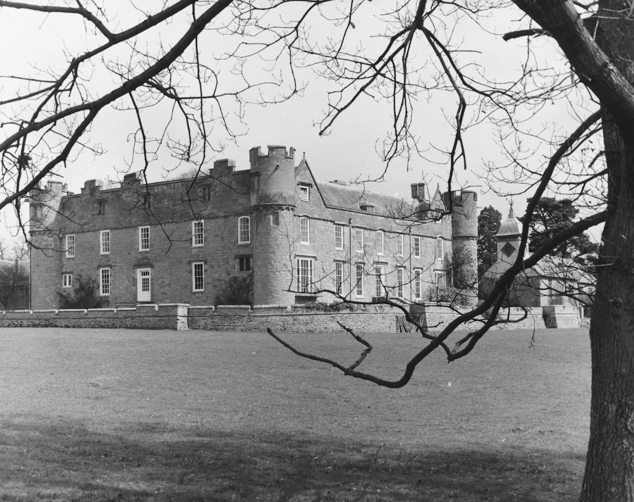 20th April 1960:  Croft Castle in Leominster, Herefordshire after being opened to the public by its owner, Lord Croft. The castle dates back to the 15th Century and has some 18th Century rooms.  (Photo by Fox Photos/Getty Images)