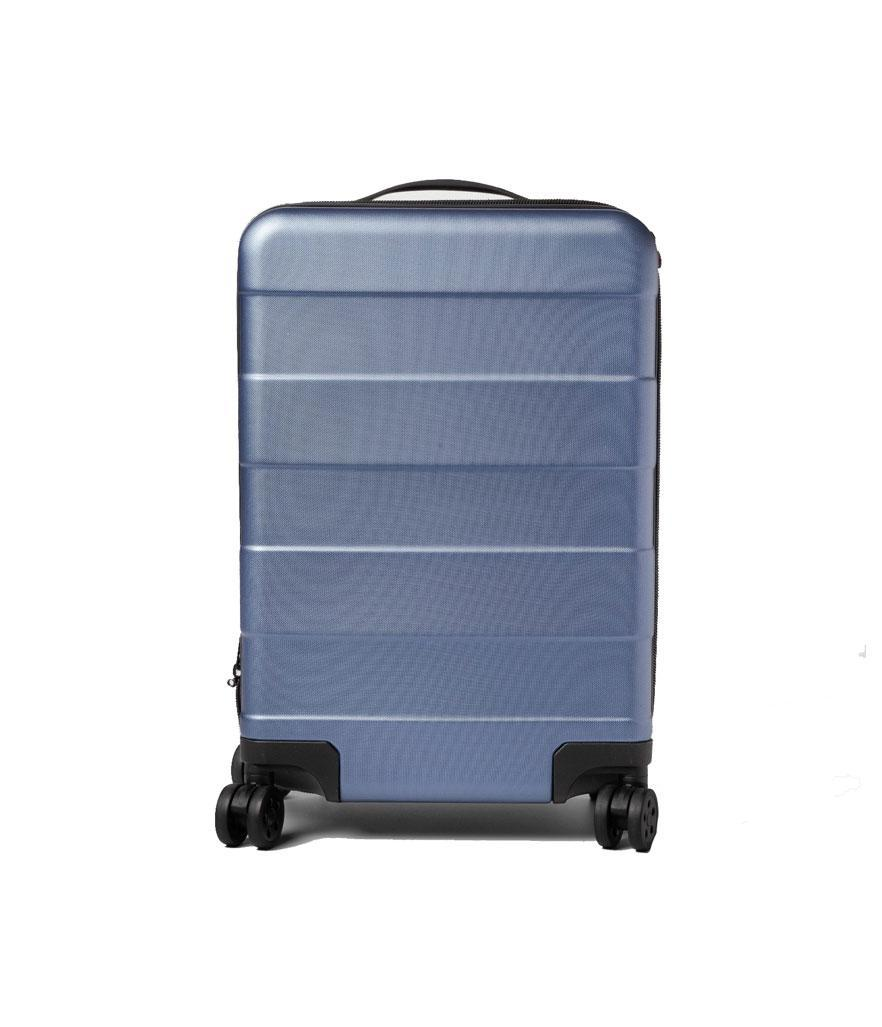 """Made By Design Hardside Carry On Spinner Luggage 20"""" Blue. (Photo: Target)"""