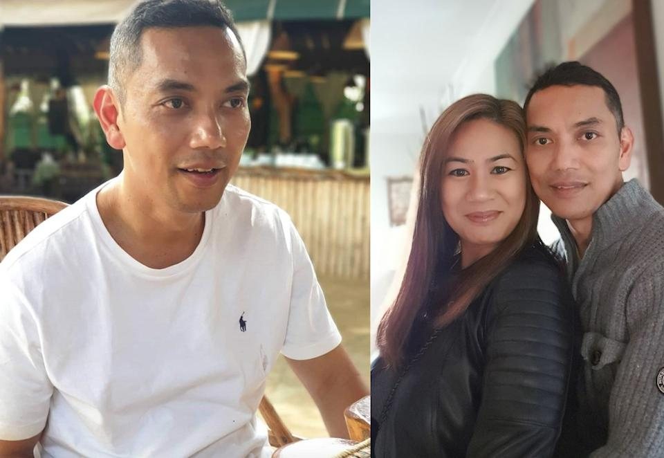 Michelle Macadangdang believed her husband had fallen out of love with her but he was diagnosed with dementia. (PA Real Life)