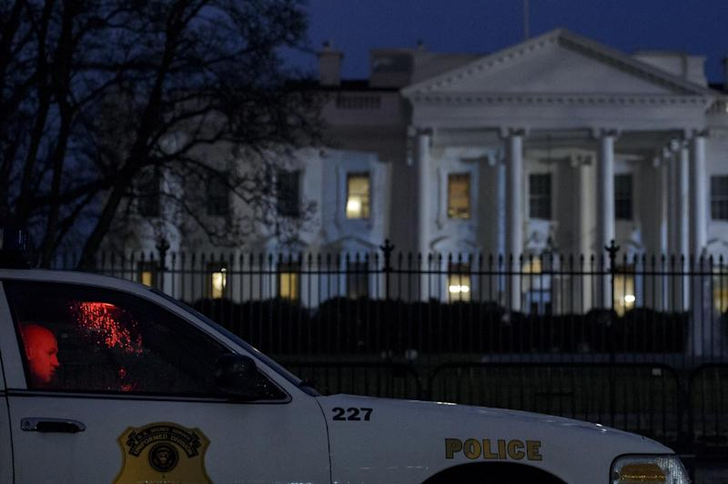Small drone crashes on White House grounds