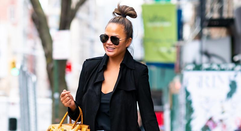 Chrissy Teigen is expecting her third child. (Getty Images)