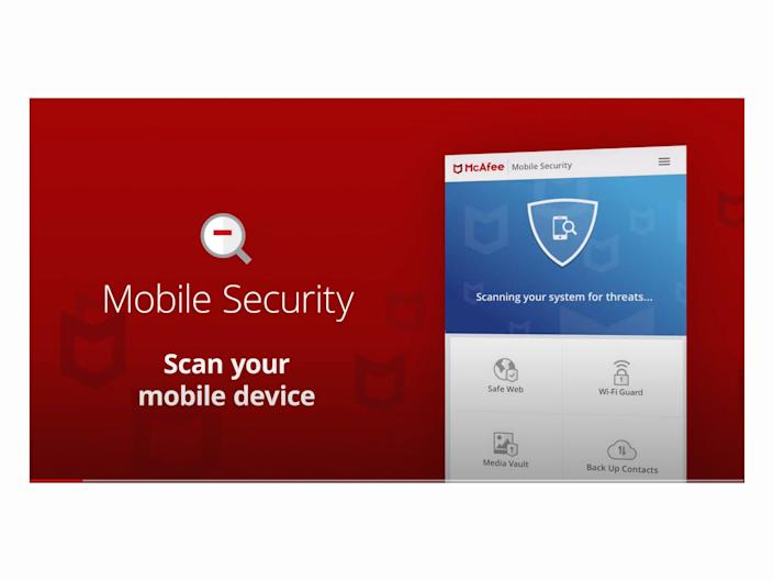 (McAfee Mobile Security)