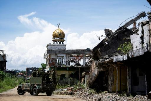 Martial law was imposed after jihadists seized the city of Marawi in May 2017, sparking a battle that lasted five months and claimed 1,200 lives