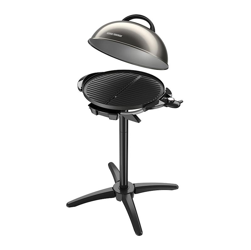 George Foreman Indoor/Outdoor Grill. (Photo: Walmart)