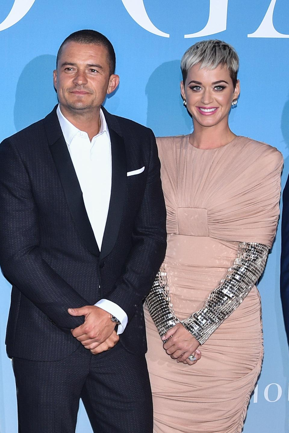 Orlando Bloom and Katy Perry (Photo: Stephane Cardinale - Corbis via Getty Images)