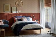 """<p>Wherever you live, don't be afraid to tap into the gorgeous hues of the autumn countryside. </p><p>Speaking about the Modern Country trend, John Lewis say: """"It draws its biggest inspiration from the heart of the home: the <a href=""""https://www.countryliving.com/uk/homes-interiors/interiors/a36751438/kitchen-colours-attract-home-buyers/"""" rel=""""nofollow noopener"""" target=""""_blank"""" data-ylk=""""slk:kitchen"""" class=""""link rapid-noclick-resp"""">kitchen</a>, and our desire for welcoming spaces that nurture<br>and restore. It's about creating a stylish retreat from modern<br>life, filled with everything you need to live well."""" <br></p>"""