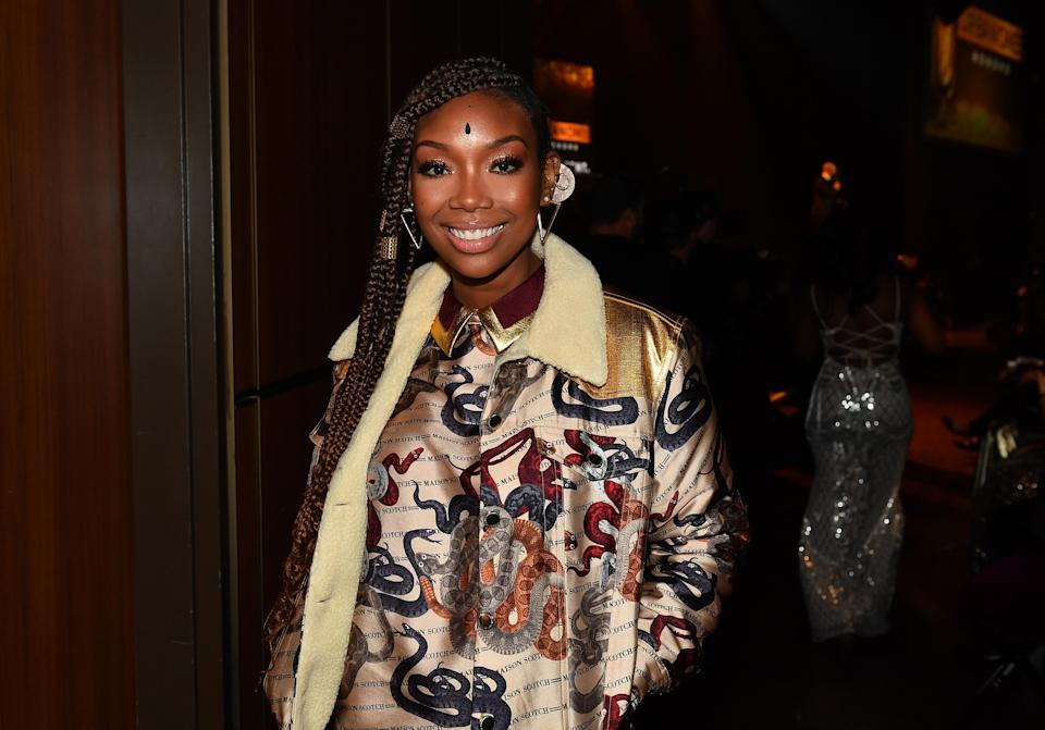 Brandy recently spoke with <em>The Guardian</em> to reflect on her career. (Photo: Getty)