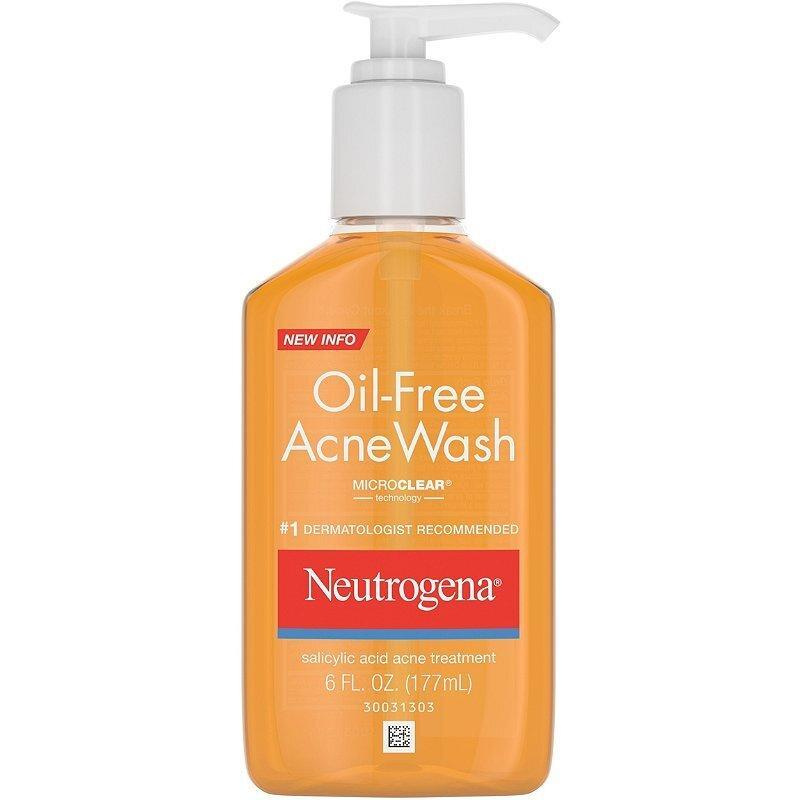 best-face-wash-for-acne-Neutrogena Oil-Free Acne Wash