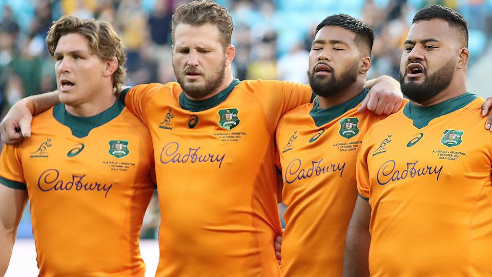 The Wallabies' impressive efforts against Argentina and South Africa have raised expectations for clashes against the likes of England and Wales. (Photo by Jono Searle/Getty Images)