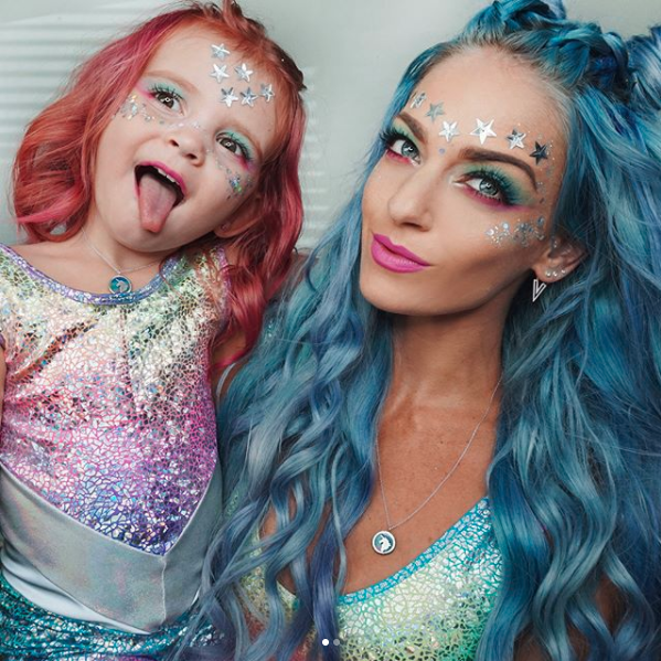 Blogger Charity shared a video of her daughter on Instagram. Photo: Instagram