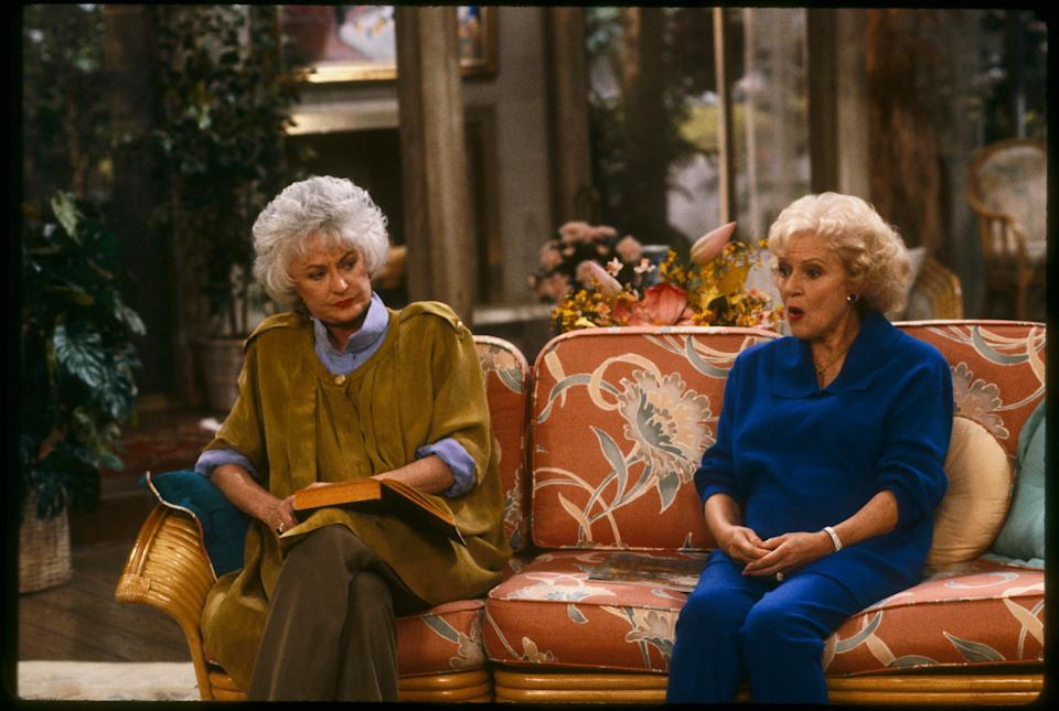 """But 'Desperate Housewives' isn't the only ensemble cast whose warm friendship disappeared as soon as the cameras stopped rolling.<br /><br />They might have been """"thanking each other for being a friend"""" when the show was on the air, but behind the scenes, leading lady Bea Arthur didn't have much to do with her co-stars.<br /><br />A friend of the late Bea Arthur's once recalled: """"One day, early on in the series, Bea said she just couldn't hold back any more and she let rip at Betty [White], turning the air blue with her tirade.""""The series became such a huge hit, but the show's execs had a major headache because of the Bea and Betty feud.<br /><br />""""By the end of the run, it often became unbearable to be around them... they simply hated each other."""""""