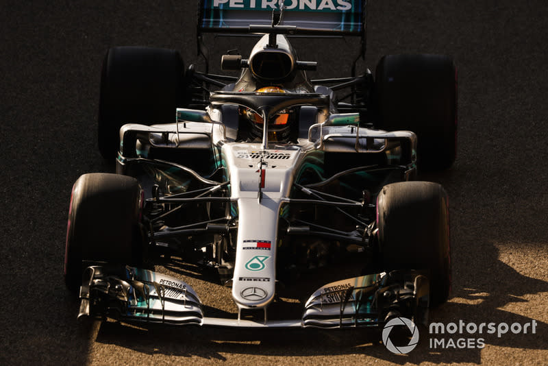 "Lewis Hamilton, Mercedes AMG F1 W09 EQ Power+<span class=""copyright"">Steven Tee / Motorsport Images</span>"