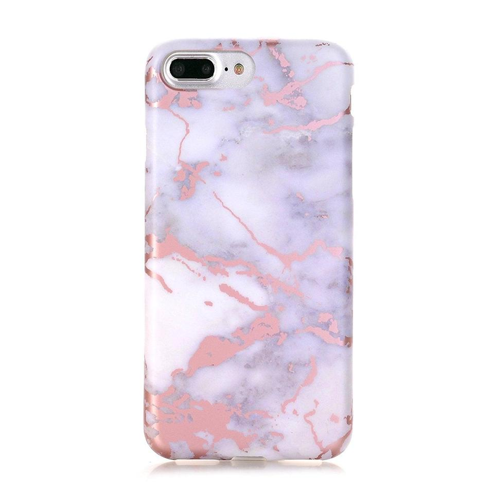 <p>The <span>DOUJIAZ iPhone Case</span> ($11) features a beautiful marble pattern. </p>