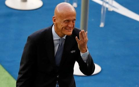 "The head of Europe's referees, the Italian Pierluigi Collina, has backed Michael Oliver over his decision to award that dramatic late penalty for Real Madrid against Juventus in their Champions League semi-final second leg, later dismissing Gianluigi Buffon for his subsequent aggression. Collina, 58, Uefa's chief refereeing officer was speaking ahead of the Champions League final in Kiev for the first time about the incident that saw the English referee at the eye of the storm, and his wife Lucy subject to online threats. Buffon has since apologised for the extent of his attack on Oliver during and then after the game, and the Italy international has been charged by Uefa. On Oliver giving a penalty for Medhi Benatia's collision with Lucas Vazquez, Collina said it was ""a penalty correctly given"". ""It's an interpretation of the incident. The referee saw what happened, he made an assessment and made a decision."" Collina defended his decision to appoint Oliver to the match despite his relative lack of experience. He said: ""I can only say one thing: the referee for that match had 199 Premier League matches at that point. I refereed 240 matches in Serie A [in his whole career]."" Nevertheless, in a wide-ranging interview, Collina admitted that mistakes by other referees had meant that the standard in the Champions League this season had fallen below the standards he expects and that Uefa needs to develop a new generation of officials to replace those retiring. Pierluigi Collina admits officiating standards have fallen below what they expect Credit: REUTERS He said that Leroy Sane's disallowed goal against Liverpool in the second leg of Manchester City's quarter-final, refereed by Spaniard Antonio Mateu Lahoz should have stood. He also said that Slovenian referee Damir Skomina should have given Roma a penalty for a handball by Trent Alexander-Arnold in the second leg of Liverpool's semi-final. Collina said that Uefa was not prepared to introduce video assistant referees [VAR] to the Champions League until the system worked to the standards the European governing body requited. He cited the Premier League's reluctance to do the same as evidence VAR is not yet ready for Europe's premium club tournament and also said that there were huge technological challenges in implementing it across Europe. Speaking about refereeing in the Champions League and Europa League in 2017-2018, Collina said that he had been pleased with the standard of the previous two seasons and at Euro 2016. ""The refereeing was considered a very high standard. We were very, very happy. There may have been one or two that weren't as expected but the full picture was positive. ""We were expecting another successful season [in 2017-2018]. We have to admit and be honest when things don't go as expected. Some things were not as expected. We are already working for the next season. We are trying to understand why we were not as successful as before. It would be easy for us to say we were unlucky. Being lucky is one of the reasons you are successful but it's not the main reason."" Uefa are not yet ready to introduce VAR in their competitions Credit: GETTY IMAGES He said that Uefa was facing ""a change in refereeing"". ""We had some referees who retired in the last years, referees who were involved in top matches. Carlos Velasco [Spain], Mark Clattenburg [England], Nicola Rizzoli [Italy], Martin Atkinson [England]. Losing these referees means we need a new generation of referees. We can't trade like clubs do with players and bring them in from Asia and South America. We need to work with the 'academy'. ""We need to build up new referees and offer them experiences. Building up a reputation and a name, it's a matter of how you are known. When there is change it can happen that a season is not so successful."" On the mistakes themselves, Collina pointed out that in the second leg in Rome the players themselves had not reacted to the Alexander-Arnold incident. ""Daniele De Rossi asked [Edin] Dzeko, 'What happened?' and Dzeko said 'Nothing'. On the field, the Roma players didn't realise. It was a handball and a penalty but human beings did not notice the incident. I was watching on TV and only after three replays [did he see it]. The commentators didn't realise."" For the Sane goal, when the ball was inadvertently played to him by James Milner, Collina said that decision ""was not an interpretation. It was a matter of fact. It was who touched the ball last [before it went to Alexander-Arnold]? Defender or attacker?"" Collina explained that there were huge problems introducing VAR across the Champions League – a much more complicated challenge than at a World Cup or Confederations' Cup staged in a few venues in a single country. Also chairman of Fifa's referees committee he said that World Cup officials has been part of a two and a half year programme to introduce them to VAR involving training and seminars. VAR would be operated from a central location in Moscow. Pierluigi Collini says Roma should have had a penalty for handball Credit: REUTERS He said that bringing all footage into Uefa's centre in Nyon in Switzerland was fraught with problems including dealing with a range of broadcasters across Europe. ""If someone in Russia decides to dig his garden and cuts the fibre the feed doesn't arrive in Nyon. There is a back-up satellite but at Euro 2012 there was a strong in Donetsk which cut the satellite. No-one could see the France v Ukraine game."" Uefa has chosen, like the Premier League, not to introduce VAR next season. ""With all respect to other competitions, we care about the Champions League,"" Collina said. ""We cannot say that because it is not easy we mustn't do it. We will work and go through all details but it takes time. When it happens will depends on of we are ready or not. The league with the biggest revenue in the world [the Premier League] wants to be sure before they start with VAR – we are the same."" On the issue of whether aggression towards referee in elite games filtered down to abuse and attacks on referees at grassroots, Collina said that he was not convinced there was a link but that the game did have a responsibility. ""We need to be careful because the young referees at grassroots level are constantly at risk and we need them in the community. ""Football helps people to grow and work together and stay together to achieve a goal together, which is all part of life. Instead of people being grateful they are attacking referees. How is that possible? We need to be very careful about every message we give. I don't know if there is a clear link [between bad behaviour at the elite level and referee attacks at grassroots]. We need to take any action to protect referees who give service to all the community."""