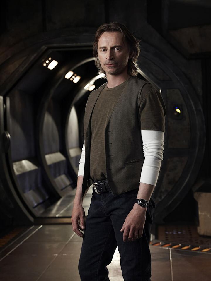 "Robert Carlyle stars as Dr. Nicholas Rush in ""Stargate Universe."""
