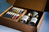 <p>He'll love your creativity when you give him the <span>Homemade Gin Kit</span> ($60) so he can make a liquor he'll be proud of. </p>