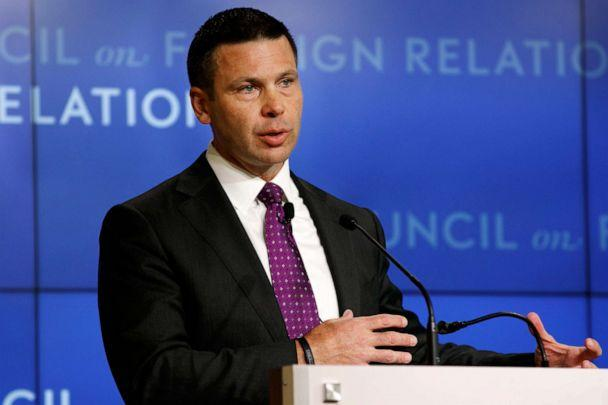 PHOTO: Acting Homeland Security Secretary Kevin McAleenan speaks at the Council on Foreign Relations, Sept. 23, 2019, in Washington. (Jacquelyn Martin/AP)