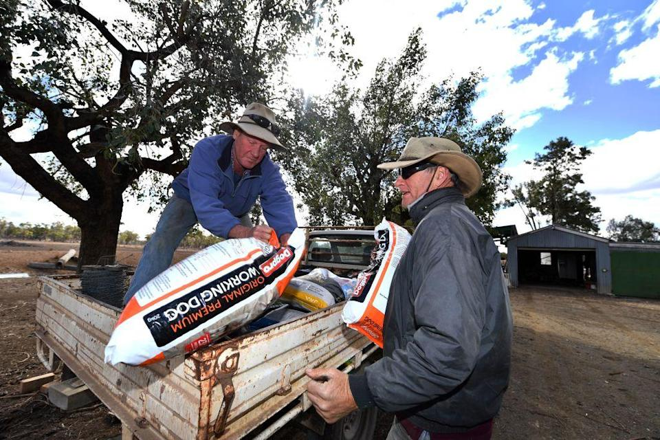 <p>Farmers are donating supplies to each other as they battle the dry conditions [Picture: Getty] </p>