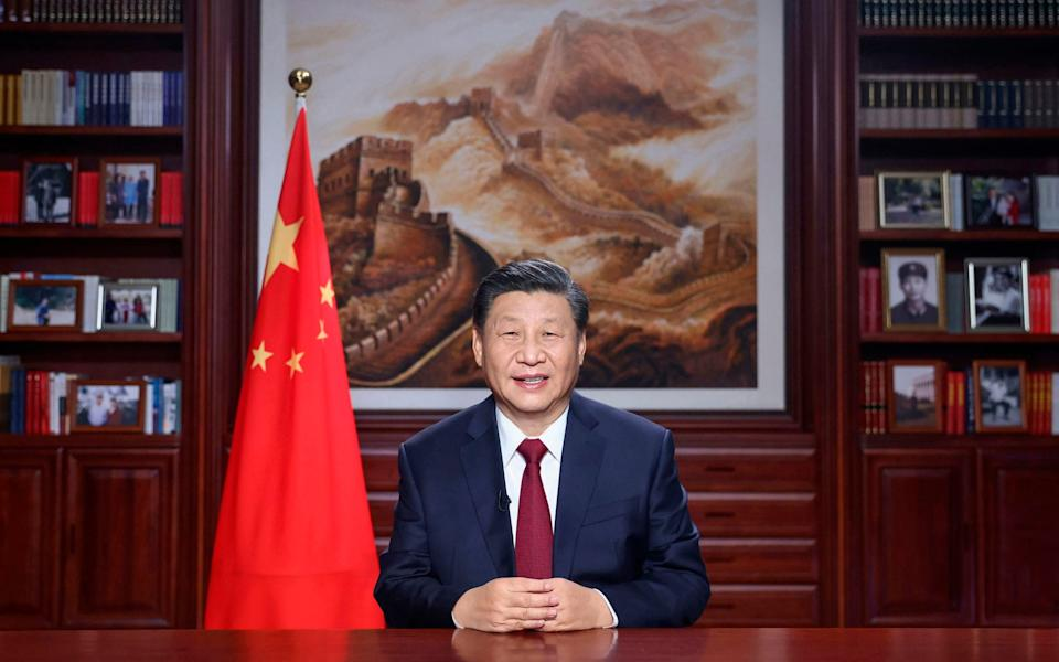 President Xi Jinping delivers a New Year's address