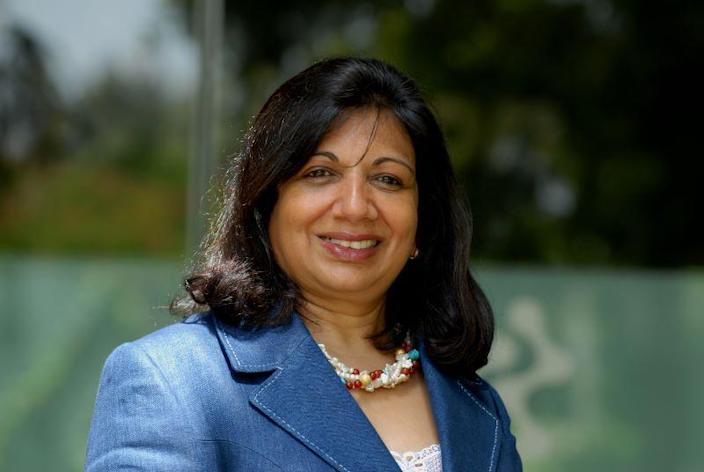 Kiran Mazumdar Shaw, executive chairperson and managing director of Biocon, named EY World Entrepreneur of the year for 2020