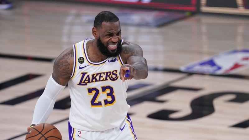 LA Lakers beat Houston Rockets to reach first conference finals since 2010