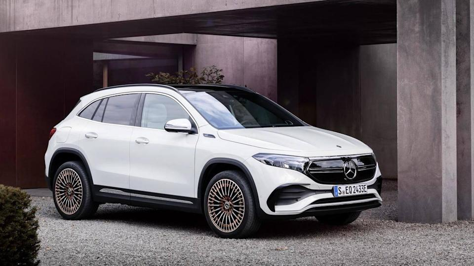 Mercedes-Benz EQA electric SUV, with 426km driving range, unveiled