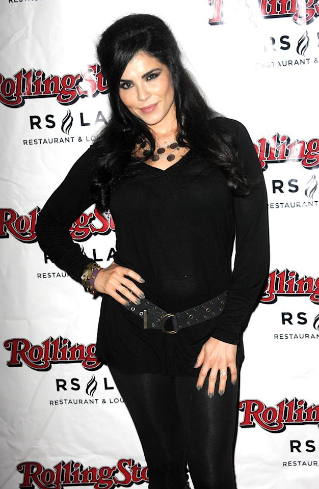 """Tara Crespo attends Discovery TV's """"My Mom Is Obsessed"""" Screening Party  held at The Rolling Stone Restaurant & Lounge on April 30, 2012 in  Hollywood, California."""