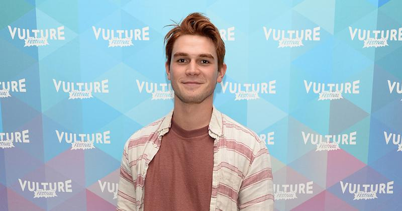 "K.J. Apa revealed that he actually broke his hand while filming ""Riverdale"""